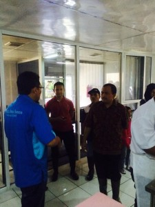 Kunjungan Bpk Muhammad Taufik (Staf Ahli Kementrian Koprasi)