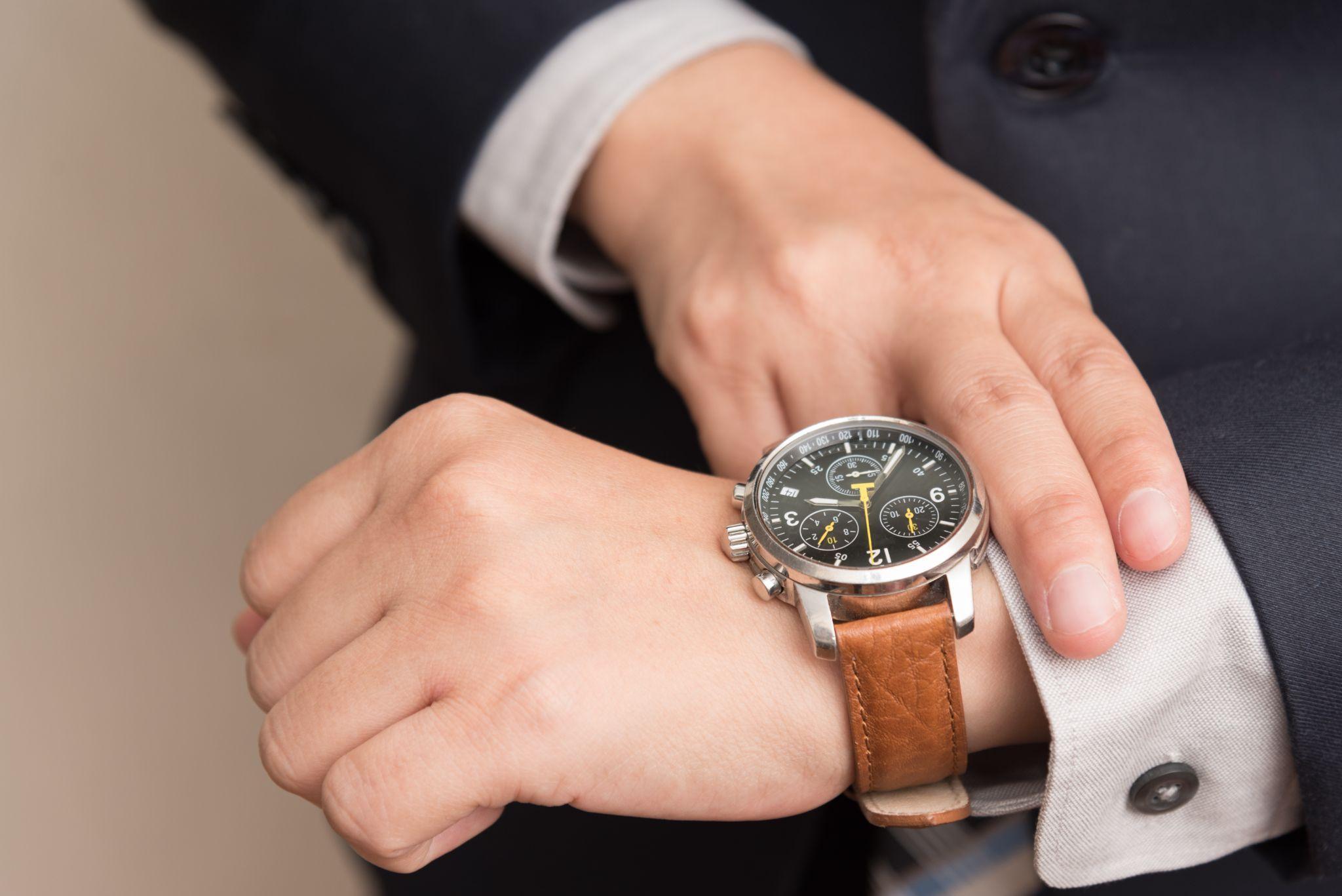 Jam untuk wawancara